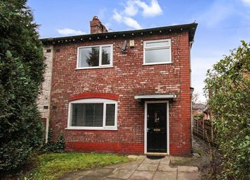 Thumbnail 3 bedroom semi-detached house to rent in Parrs Wood Road, Didsbury, Manchester