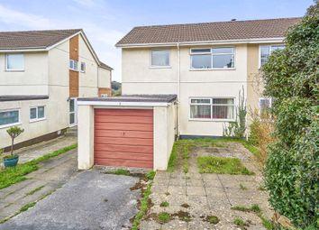 Thumbnail 3 bed semi-detached house for sale in Sunningdale Road, Saltash