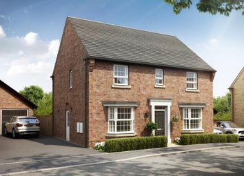 "Thumbnail 4 bed detached house for sale in ""Bradgate"" at Stoke Road, Poringland, Norwich"
