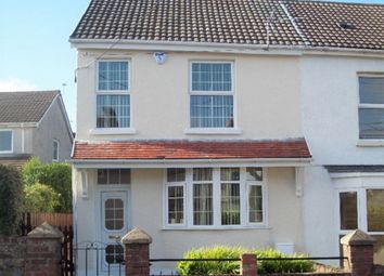 Thumbnail 3 bed end terrace house to rent in Killan Road, Dunvant, Swansea