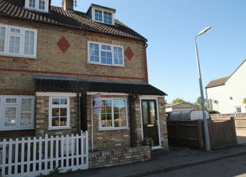 Thumbnail 3 bed terraced house for sale in Summerleys, Edlesborough, Buckinghamshire