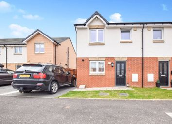 Thumbnail 3 bedroom semi-detached house for sale in Brock Place, Motherwell