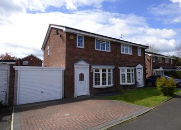 Thumbnail 3 bed semi-detached house for sale in Teal Close, Winsford, Cheshire