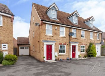 Thumbnail 3 bed town house for sale in Betony Grove, Kirkby-In-Ashfield, Nottingham