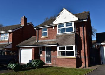 Thumbnail 4 bed detached house for sale in Rowan Drive, Hall Green, Birmingham