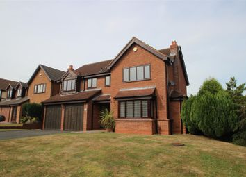 Thumbnail 4 bed detached house for sale in Powell Road, Priorslee, Telford