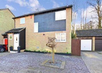 Thumbnail 3 bed link-detached house for sale in Walsham Road, Walderslade, Chatham, Kent