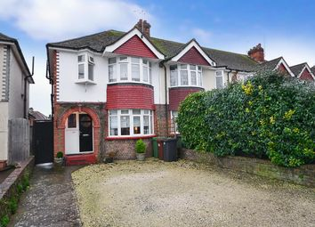 Thumbnail 3 bed end terrace house for sale in Wallis Avenue, Eastbourne