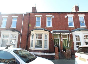 Thumbnail 3 bed terraced house for sale in Warwick Road, South Shields