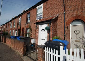 Thumbnail 2 bed terraced house to rent in Angel Road, Norwich