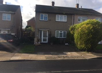 Thumbnail 3 bed semi-detached house to rent in Jersey Road, Luton