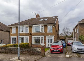 Thumbnail 5 bed semi-detached house for sale in Solva Avenue, Cardiff