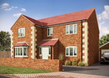 Thumbnail 4 bedroom detached house for sale in Plot D, Oak House Farm, Stanfree, Chesterfield