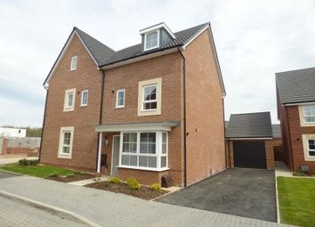 Thumbnail 4 bed semi-detached house to rent in Bircher Way, Hucclecote, Gloucester