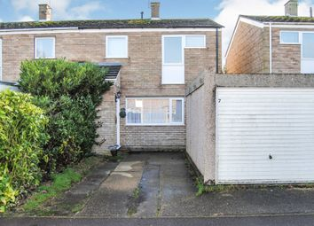 Thumbnail 3 bed semi-detached house for sale in Lindisfarne Road, Bury St. Edmunds