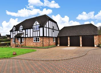 Thumbnail 4 bed detached house for sale in Noden Drive, Lea, Ross-On-Wye