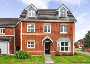 Thumbnail 5 bed detached house for sale in Laburnum Court, Barlow, Selby