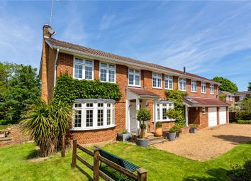 Thumbnail 5 bed detached house for sale in The Knoll, Cobham, Surrey