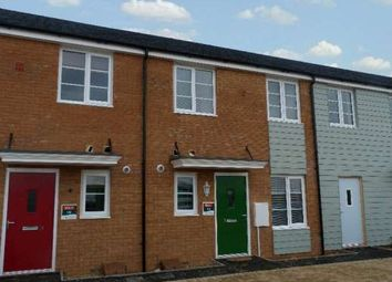 Thumbnail 1 bed terraced house to rent in Elena Road, Stanground, Peterborough