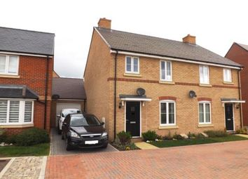 Thumbnail 3 bed semi-detached house for sale in Hunt Road, Biggleswade, Bedfordshire