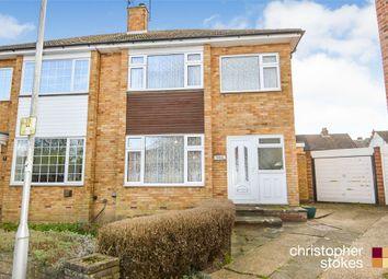 Thumbnail 3 bed semi-detached house for sale in Audwick Close, Cheshunt, Waltham Cross, Hertfordshire