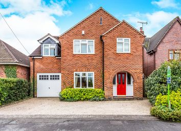 Thumbnail 4 bed detached house for sale in Boyslade Road East, Burbage, Hinckley