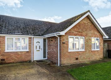 Thumbnail 4 bedroom semi-detached bungalow for sale in Sanderling Close, Mildenhall, Bury St. Edmunds
