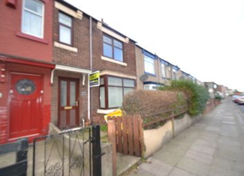 Thumbnail 3 bed terraced house for sale in Stockton Road, Hartlepool
