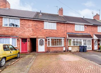 Thumbnail 2 bed terraced house for sale in Bradfield Road, Great Barr, Birmingham