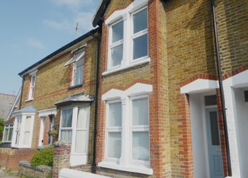 Thumbnail 3 bed terraced house to rent in Warwick Road, Whitstable