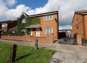 Thumbnail 3 bed semi-detached house to rent in Mercer Avenue, Kirkby, Liverpool