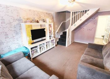 Thumbnail 2 bedroom town house for sale in Springfield Court, Leek, Staffordshire