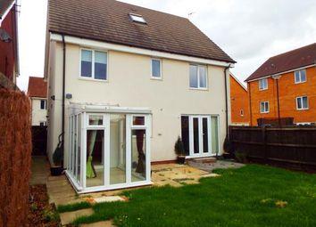 Thumbnail 5 bedroom detached house for sale in Brickton Road, Hampton Vale, Peterborough, Cambridgeshire