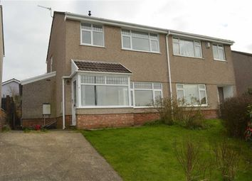 Thumbnail 3 bed semi-detached house for sale in The Mead, Swansea, Swansea