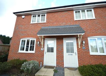 Thumbnail 2 bed semi-detached house for sale in Suffolk Way, Church Gresley, Swadlincote
