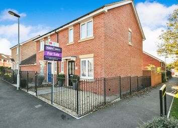 Thumbnail 3 bed semi-detached house for sale in Edith New Close, Swindon