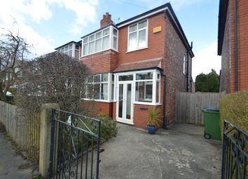Thumbnail 3 bed semi-detached house for sale in Montrose Avenue, Woodsmoor, Stockport