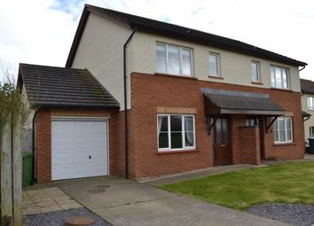 Thumbnail 3 bed semi-detached house to rent in Close Toalt, Ballawattleworth Estate, Peel, Isle Of Man