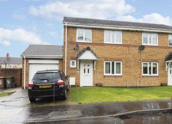 Thumbnail 3 bed semi-detached house for sale in Acorn Lane, Gelligaer, Hengoed