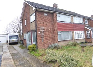 Thumbnail 3 bed semi-detached house for sale in Carterweys, Dunstable
