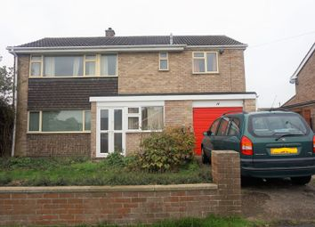 Thumbnail 4 bed detached house for sale in Churchill Avenue, Bourne