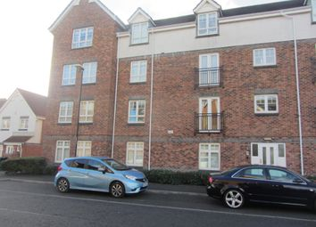 Thumbnail 2 bed flat to rent in Brabourne Gardens, North Shields