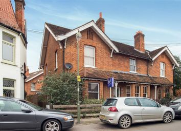 Thumbnail 2 bed semi-detached house for sale in Manor Road, Walton-On-Thames
