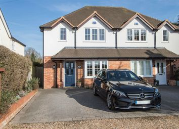 Thumbnail 3 bed semi-detached house for sale in Littlecote Cottages, Chequers Lane, Eversley
