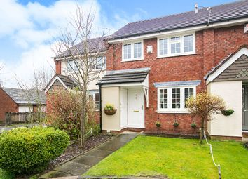 Thumbnail 3 bed terraced house for sale in Peckforton Close, Gatley, Cheadle
