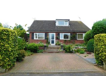 Thumbnail 4 bed bungalow for sale in Leigh Close, Stafford