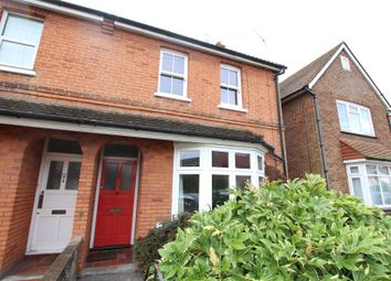 Thumbnail 2 bed semi-detached house to rent in Abbey Road, Horsell, Woking