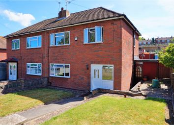 Thumbnail 3 bed semi-detached house for sale in Fleet Road, Rochester