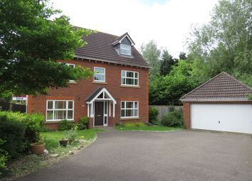 Thumbnail 5 bedroom detached house for sale in Rowan Close, Grange Park, Northampton