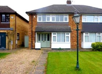 Thumbnail 3 bed semi-detached house to rent in Common Lane, Radlett